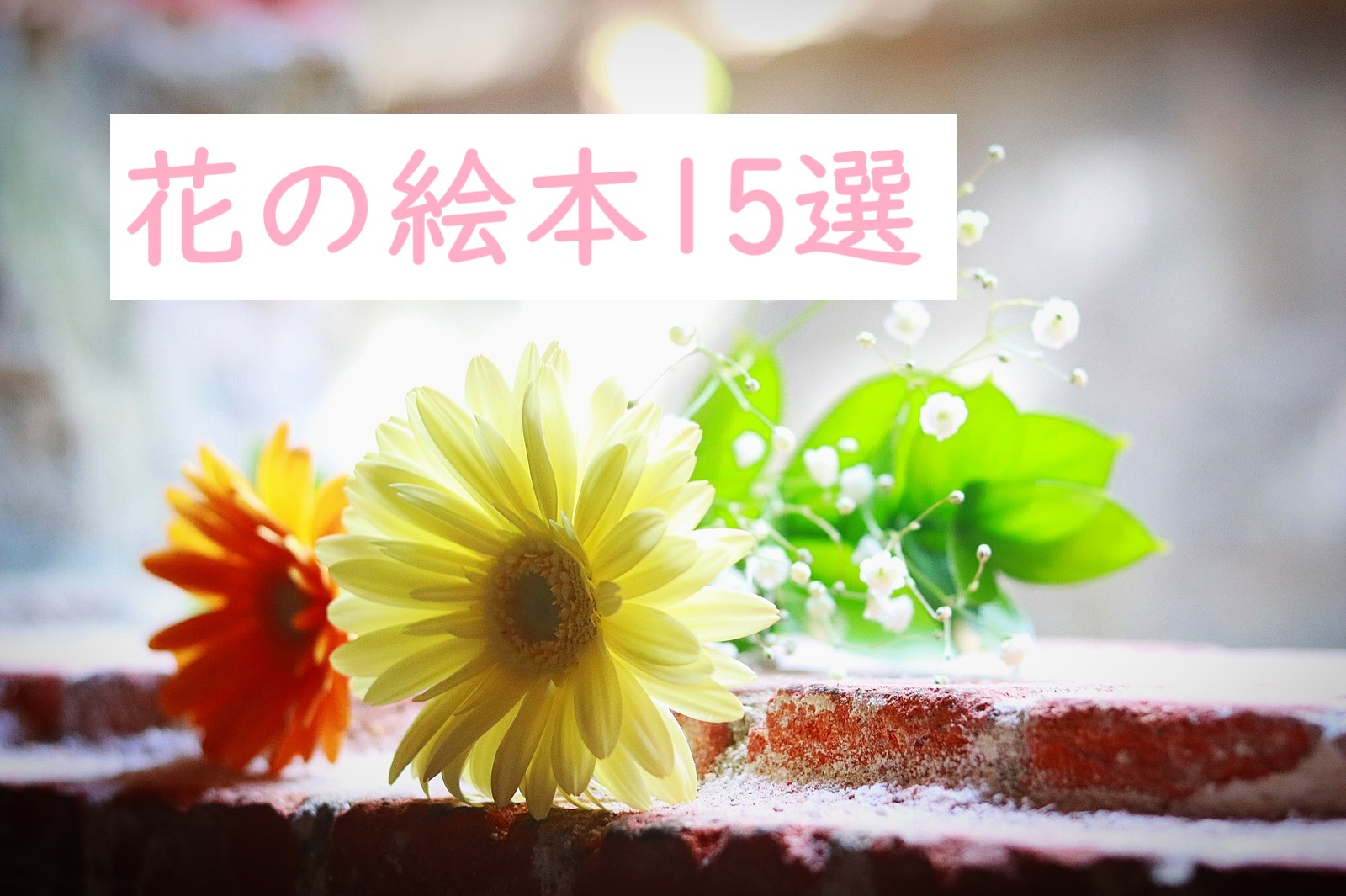 花の絵本特集♪
