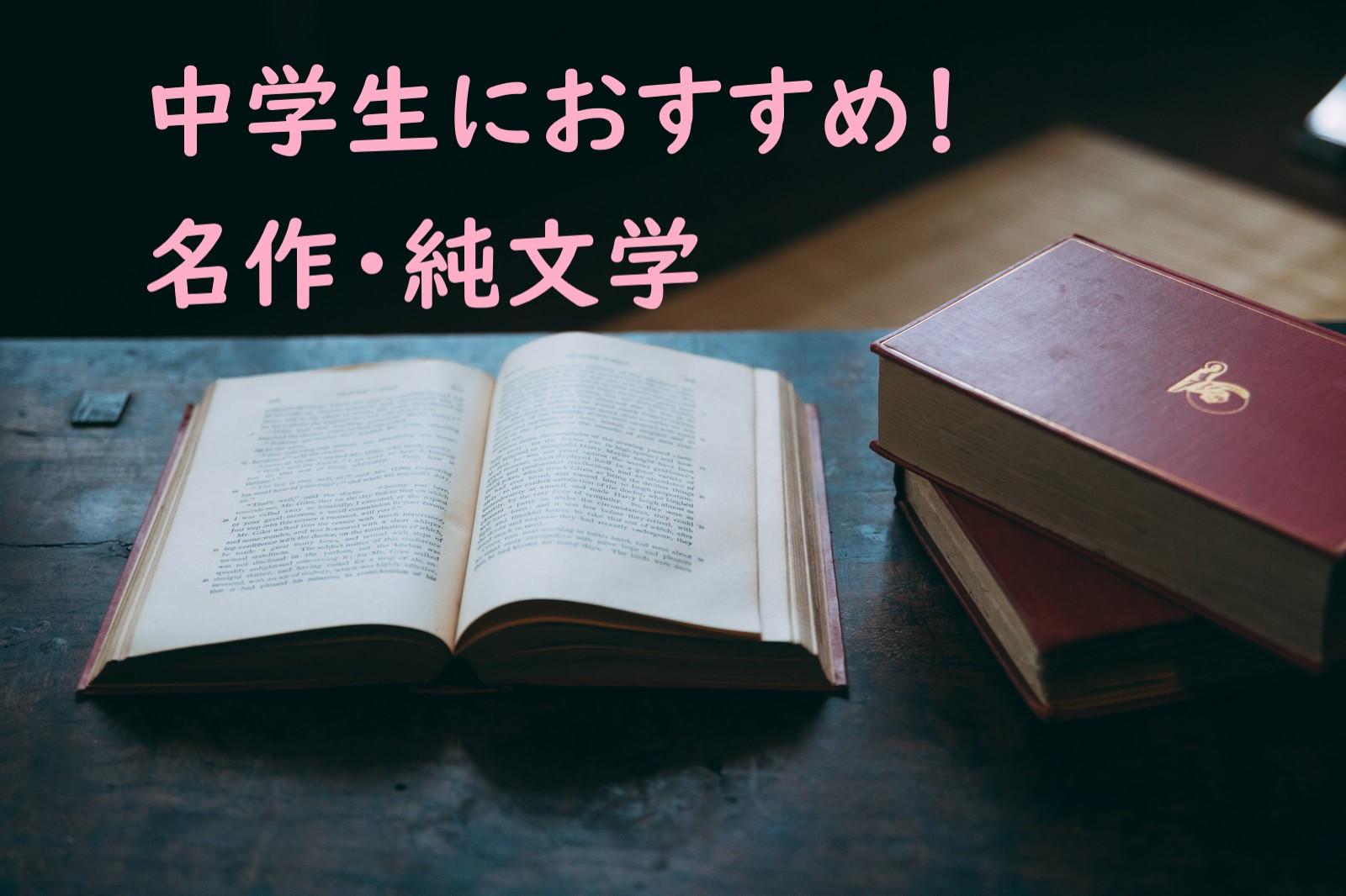 中学生におすすめ!名作・純文学